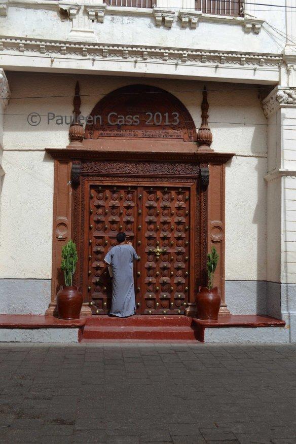 225 Stone Town doorway